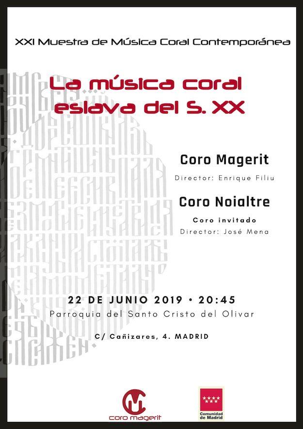 XXI Muestra de Música Coral Contemporánea